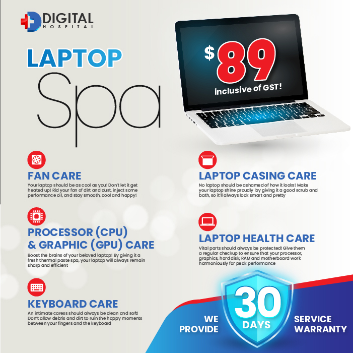 Laptop Spa