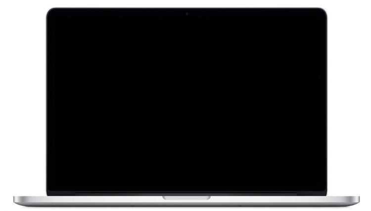 MacBook Pro booting black screen