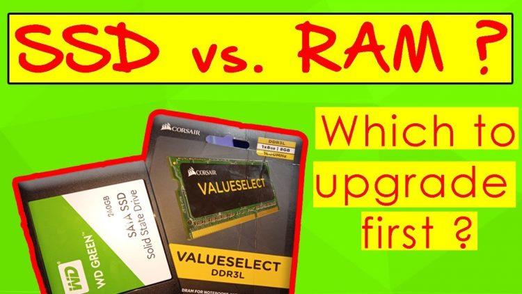 RAM Vs SSD